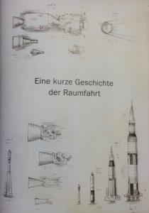 Illustrationen zur Kurzgeschichte der Raumfahrt