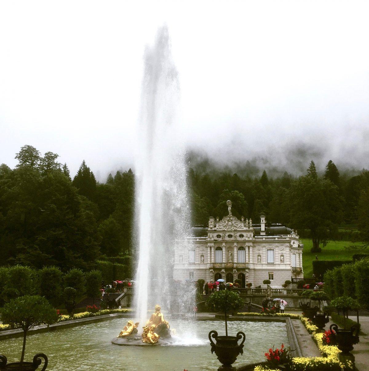 Wasser Wunderwelt Schloss Linderhof Forschen Bloggen Fur Kinder