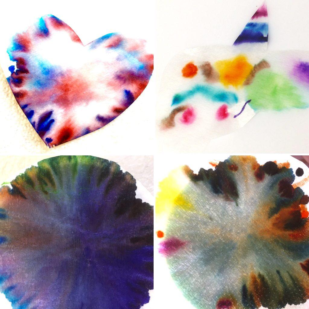 Herz, Einhorn, Chromatographie, Kreativität