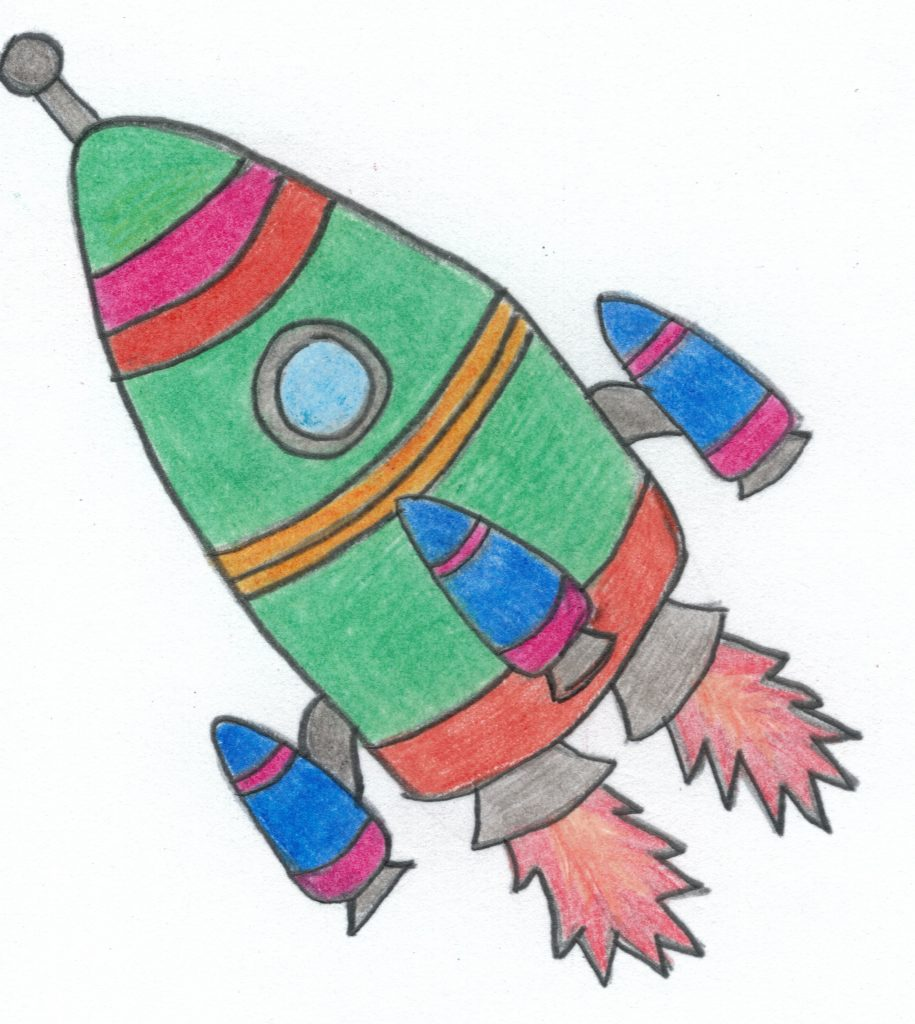 http://blog.forschenfuerkinder.de/2018/06/01/munich-starbird-…chen-fuer-daheim/ Rakete Rückstoßprinzip Raketenstart