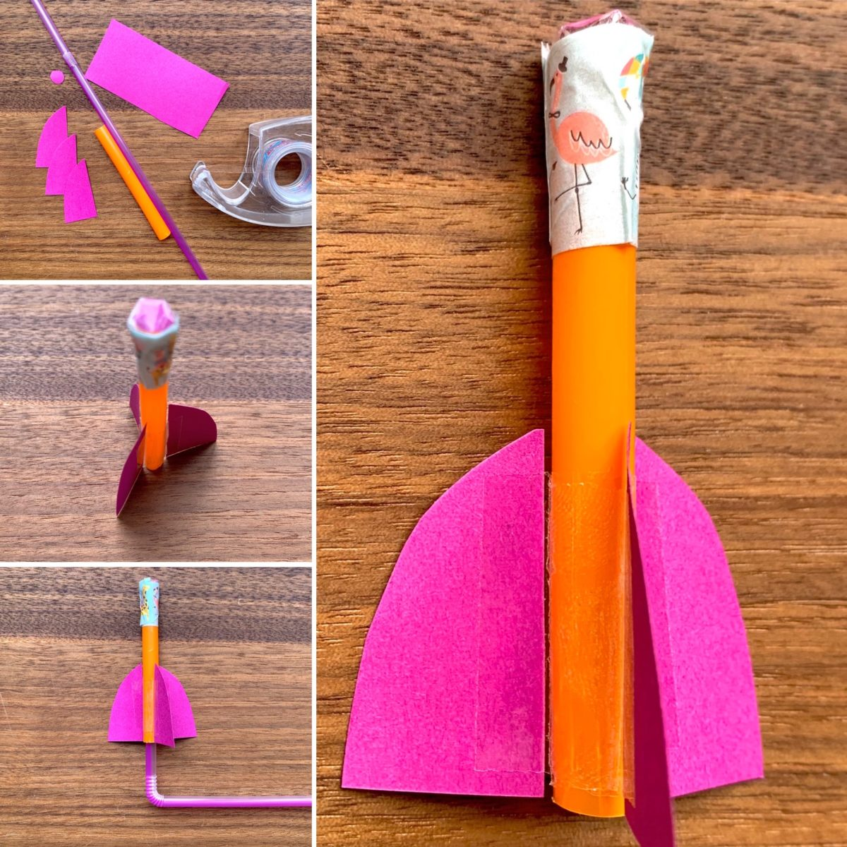 SCHNELL GEFORSCHT: Mini-Rakete