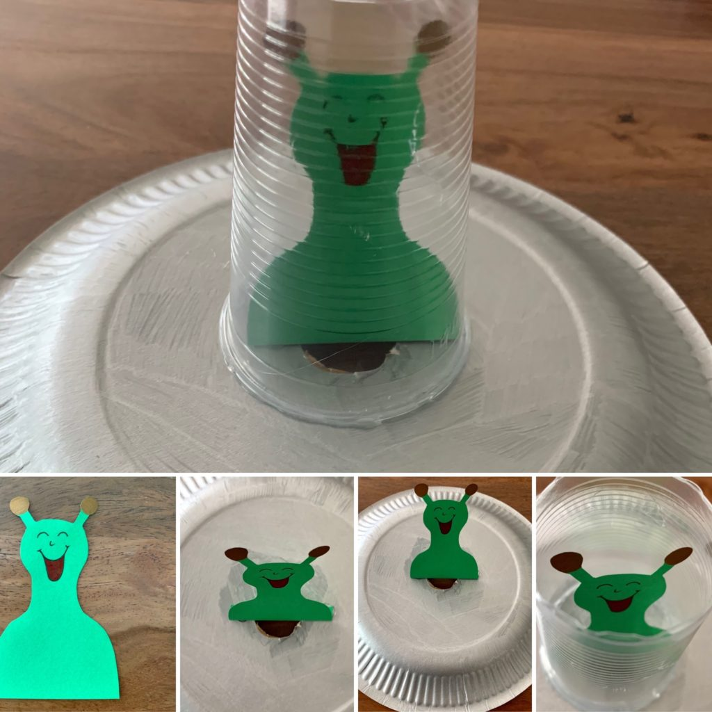 Forschen für Kinder Alien Ufo Spiel