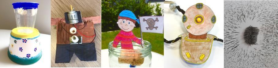 Forschen & bloggen für Kinder