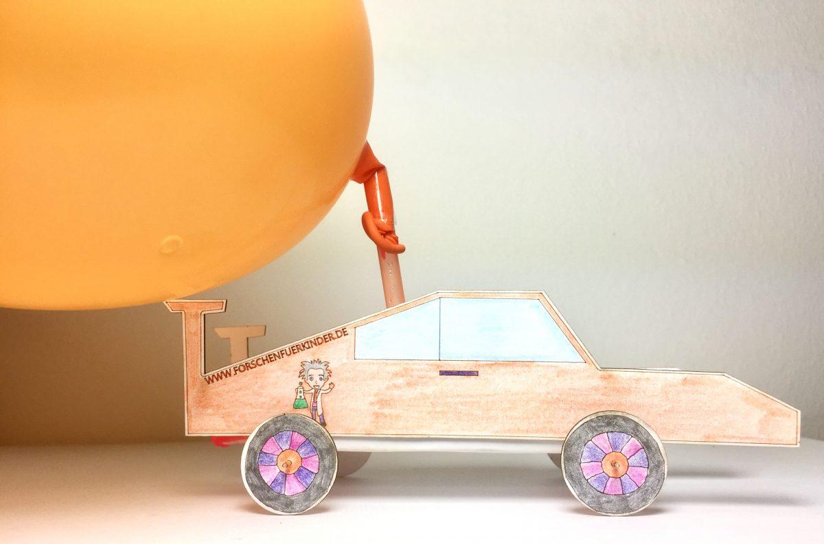 """Munich Ballon""-Raktenauto"