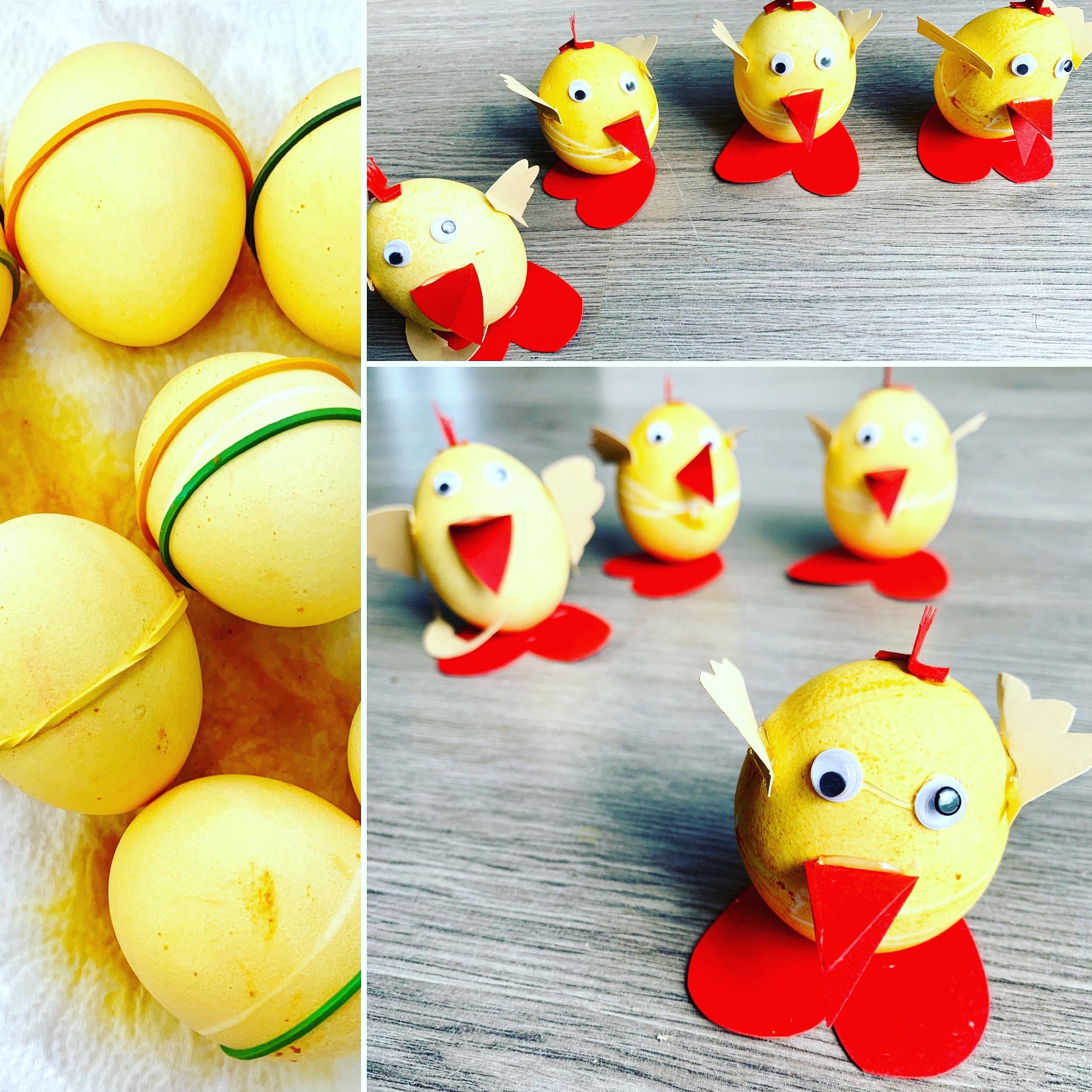 Bunte Eier für das Osterfest!